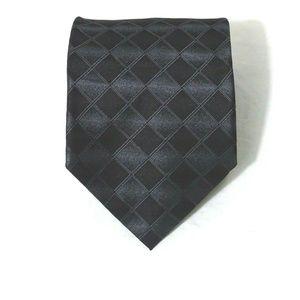 Calvin Klein Silk Classic Tie Men Necktie Black